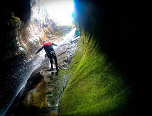 Seja bem-vindo ao Canyoning  no Cânion das Andorinhas